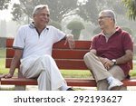 Old Men Sitting On A Bench In ...