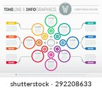 web template for circle diagram ...   Shutterstock .eps vector #292208633