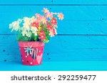 fake flowers for interior... | Shutterstock . vector #292259477