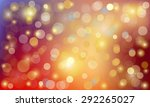 vector background with circles | Shutterstock .eps vector #292265027