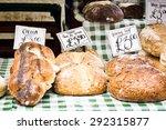 Loaves Of Fresh Organic Bread...