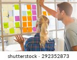 young creative business people... | Shutterstock . vector #292352873