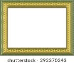 picture frame generated... | Shutterstock . vector #292370243