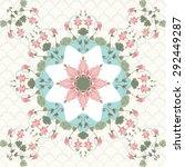 seamless background. vintage...   Shutterstock . vector #292449287