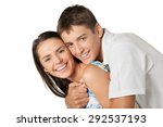 couple  love  happiness. | Shutterstock . vector #292537193