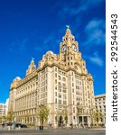 the royal liver building in...