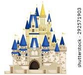 kingdom castle | Shutterstock .eps vector #292571903