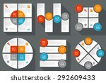 infographics design template.... | Shutterstock .eps vector #292609433