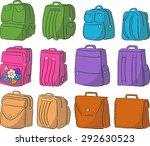 bags set | Shutterstock .eps vector #292630523