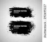 grunge vector banner. eps10... | Shutterstock .eps vector #292695227