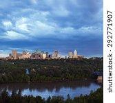 Small photo of Panorama of Edmonton