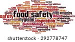 food safety word cloud concept. ... | Shutterstock .eps vector #292778747