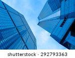 skyscrapers in hongkong | Shutterstock . vector #292793363