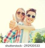 summer holidays  vacation  love ... | Shutterstock . vector #292920533