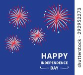 happy independence day united... | Shutterstock . vector #292952273