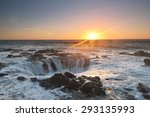 Thor's Well Sunset  Cape...