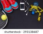 Tennis Sport. Woman Sport...
