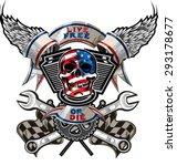 live free or die   biker skull...