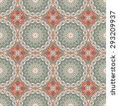 vector seamless pattern.... | Shutterstock .eps vector #293209937