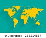the world | Shutterstock .eps vector #293214887