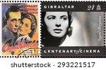 gibraltar   circa 1995. a... | Shutterstock . vector #293221517