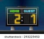 electronic soccer scoreboard...