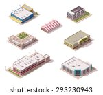 vector isometric icon set or... | Shutterstock .eps vector #293230943
