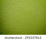 bright green concrete wall | Shutterstock . vector #293237813