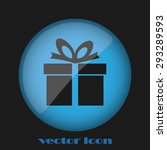gift | Shutterstock .eps vector #293289593