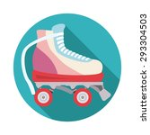 skates digital design  vector... | Shutterstock .eps vector #293304503