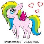 illustration of very cute... | Shutterstock .eps vector #293314007