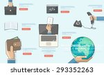 business icons | Shutterstock .eps vector #293352263