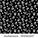 traditional  floral  pattern on ... | Shutterstock .eps vector #293361647