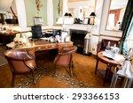 interior of modern hotel... | Shutterstock . vector #293366153