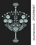 Luxury Flower Motif For Design...