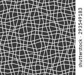 the mesh monochrome pattern of... | Shutterstock .eps vector #293549183