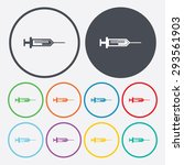 vector illustration of modern... | Shutterstock .eps vector #293561903