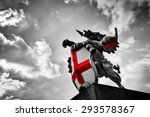 St George Dragon Statue In...