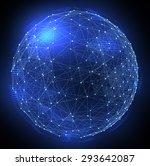 networks. globe design.... | Shutterstock . vector #293642087