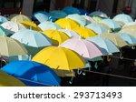 color umbrella | Shutterstock . vector #293713493