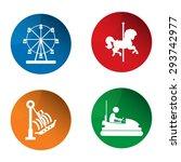 amusement park icon. amusement... | Shutterstock .eps vector #293742977