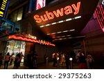 Subway Sign. New York