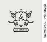 heraldic sign   Shutterstock .eps vector #293808983