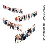 people diversity united... | Shutterstock . vector #293809607