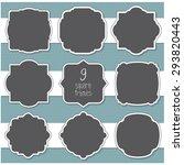 vector illustration of a set of ... | Shutterstock .eps vector #293820443