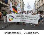 rome  italy   june 13  2015 ... | Shutterstock . vector #293855897