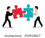 business solutions design ... | Shutterstock .eps vector #293923817