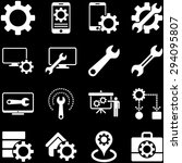 options and service tools icon... | Shutterstock . vector #294095807