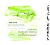 watercolor abstract blur... | Shutterstock .eps vector #294106097