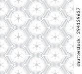 gray flower graphic pattern... | Shutterstock .eps vector #294139637